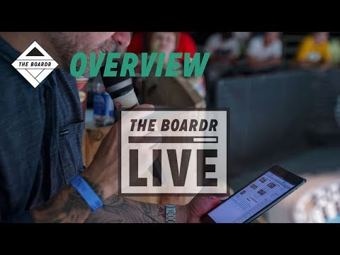 App Overview: The Boardr Live Skateboarding and Action Sports Scoring System