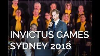 The Duke of Sussex's Speech | Invictus Games | Sydney