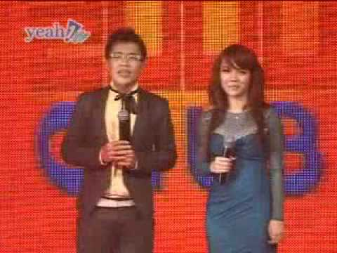 Yến Trang dẫn chương trình Hot Music