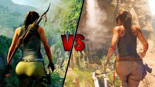 Shadow Of The Tomb Raider VS Rise Of The Tomb Raider Comparison- 2018