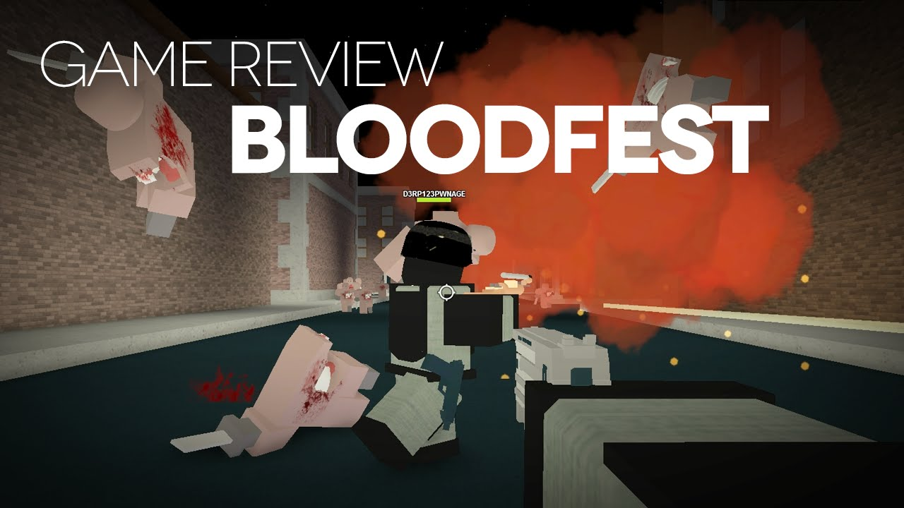bloodfest game review youtube