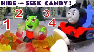 Funny Funlings Learn Numbers with Hide and Seek Candy Thomas The Train and Tom Moss