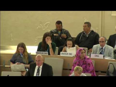 Vulnerable minorities (Arameans) of Iraq and Syria, United Nations in Geneva, 23 June 2016