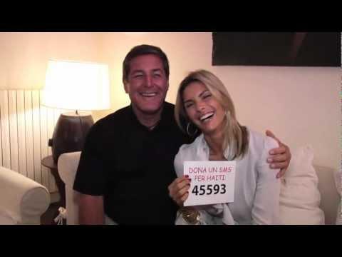 45593: Un respiro per Haiti – Martina Colombari e Padre Rick lanciano un appello per l'sms solidale