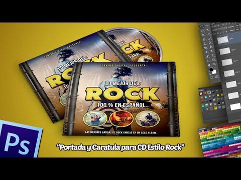 Tutorial Photoshop: Portada y Caratula para CD Estilo Rock.