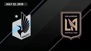 HIGHLIGHTS: Minnesota United FC vs. Los Angeles Football Club | July 22, 2018
