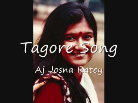 aj josna ratey - tagore song by shahana...