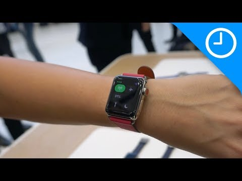 Hands on: Apple Watch Series 3 with LTE!