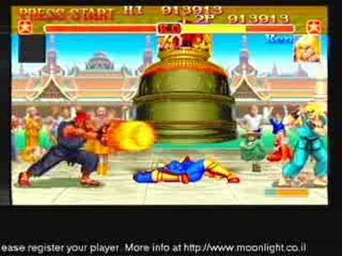 Ken v Akuma (Arcade Mode) Super Street Fighter 2 Turbo