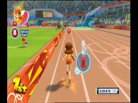 Mario & Sonic at the London 2012 Olympic Games: 4x100M Relay