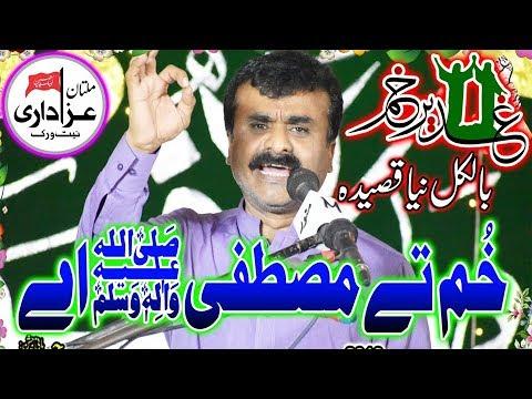 Zakir Qazi Waseem Abbas I Jashan Eid e Ghadeer 18 Zilhaj 2019 I Great New Qasida I Multan