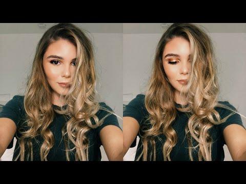 HOLIDAY MAKEUP TUTORIAL: GOLD SMOKEY EYE & BRONZED SKIN | Olivia Jade