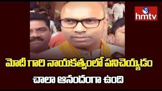 Dharmapuri Aravind Oath As MP In Lok Sabha | Nizamabad MP | hmtv