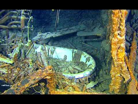 Titanic a os de historia bajo el mar santos youtube - Fotos fondo del mar ...