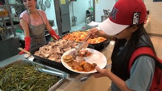 $4.50 Buffet in Seoul City (1080p 60fps) : Real Korea LIVE [EXBC]