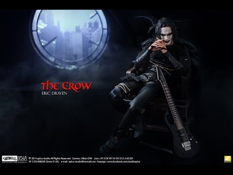 REVIEW : Hottoys  The Crow