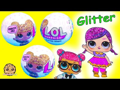 LOL Surprise Glitter Series Blind Bag Baby Doll -  Cry, Color Change Toy Video ?