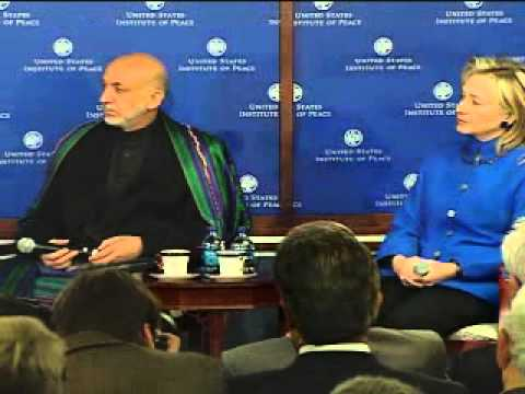 A Conversation with Afghan President H.E. Hamid Karzai and The Honorable Hillary Clinton