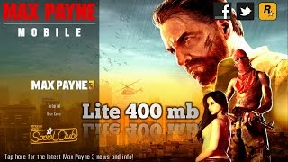 how to download Max Payne game on android