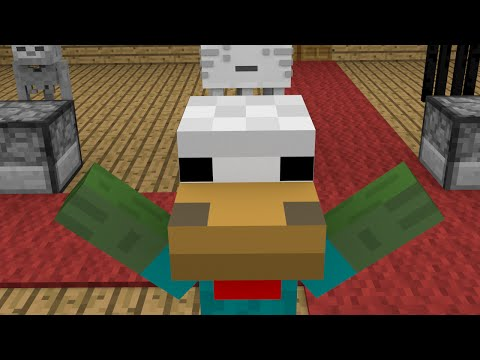 Monster School: Cooking - Minecraft Animation | Zombie with Chicken Head