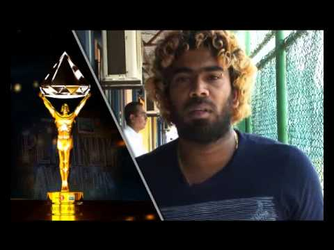 Lasith Malinga - Sports First Mobitel Platinum Awards 2014