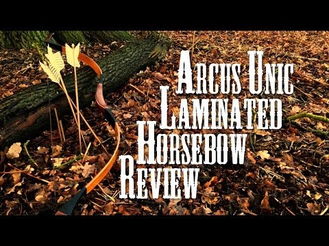 Unic Laminated Horse bow by Arcus (review plus montage)