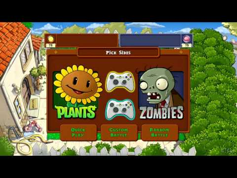 Versus vs Versus Achievement the easy way on Plants vs Zombies Xbox 360