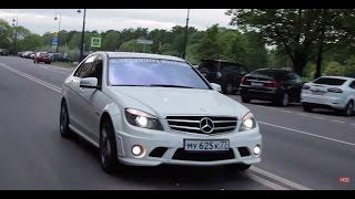 Mercedes-Benz C63 AMG Тест-Драйв.Anton Avtoman.