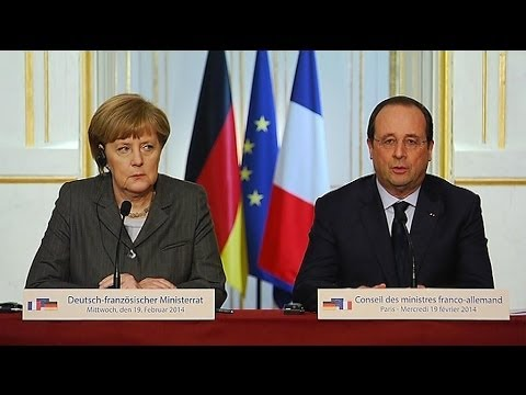 Ukraine: Hollande réclame des sanctions - 17/02