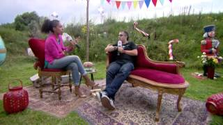 Dave Clarke - Interview at Tomorrowland 2012