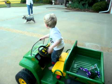 I'll Take You For A Ride On My Big Green Tractor :-) video