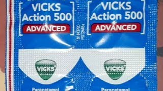 Vicks action 500 tablet review | uses | How to use | how it works