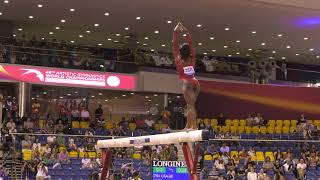 Simone Biles - Balance Beam - 2018 World Championships - Women's Team Final