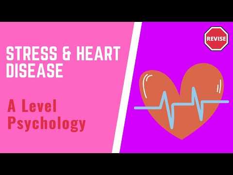 As Psychology - Stress & Heart Disease