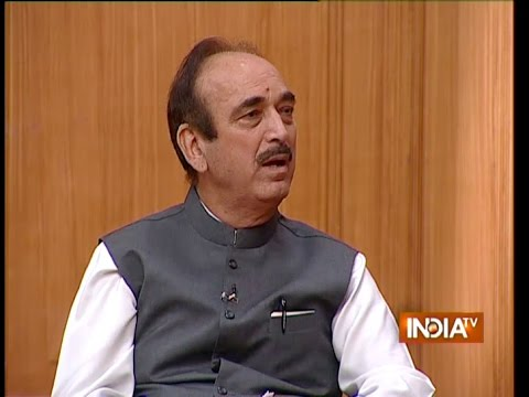 China is giving priority to our enemy country Pakistan - Ghulam Nabi Azad