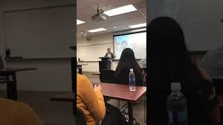 Stress speech for speech class