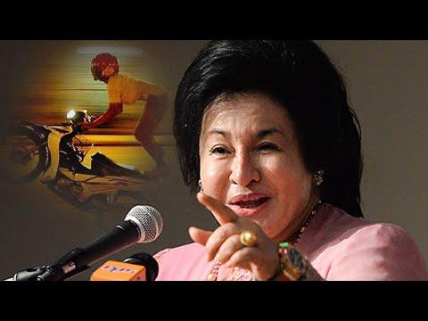 Rosmah, Najib tak boleh tidur kerana mat rempit