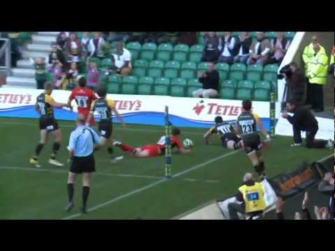 Northampton Saints vs Saracens | Anglo Welsh LV=Cup Highlights - Northampton Saints vs Saracens | An
