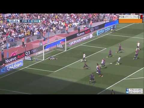 T14/15 J32 Liga BBVA: FC Barcelona 2-0 Valencia CF (RAC1)