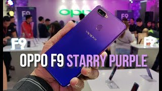 OPPO F9 Starry Purple Philippines Launch Experience
