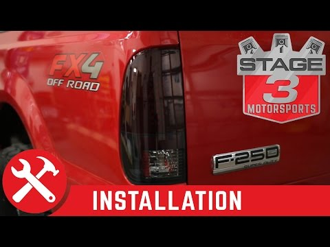 1999-2007 F-250 & F-350 Recon Lighting LED Tailights Install