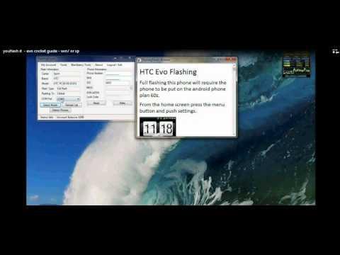 Full flash Htc EVO 3D to Pageplus talk text web mms