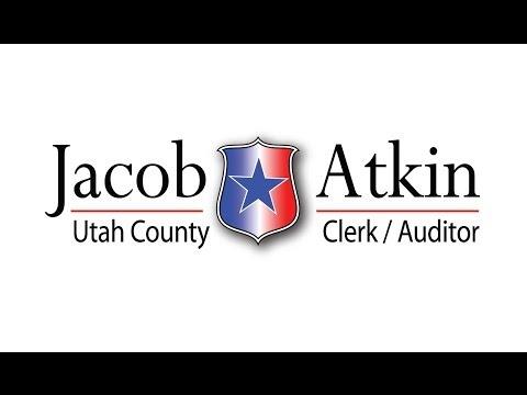 Utah County Treasurer Debate