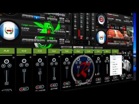 Mezcla Con Virtual Dj  Pro 7 Usando Solo Samplers