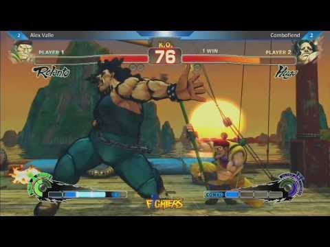 Alex Valle vs Combofiend - Super Arcade Ultra Street Fighter IV Location Test