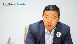 Full interview: Andrew Yang meets with the Register's editorial board