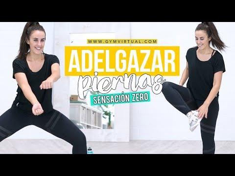Rutina para adelgazar y tonificar las piernas | Sensación Zero