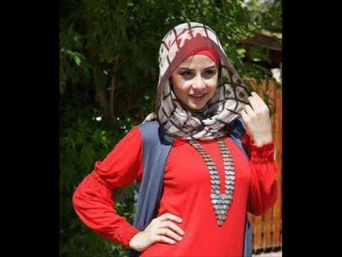 Egyptian girls wearing the hijab, Arab girls