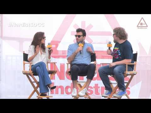 Zachary Quinto Hannah Ware Agent 47 SDCC 2014