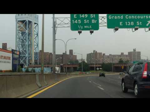 Major Deegan Expressway (Interstate 87) northbound
